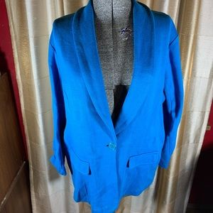 Style and Co Cotton Blazer